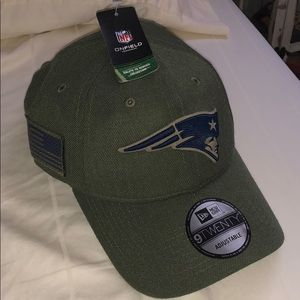 NFL New England Patriots Salute to Service Hat NEW